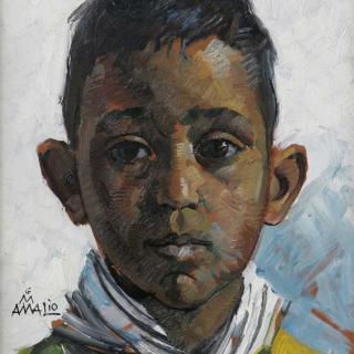 Niño campesino andaluz, 35x26cm