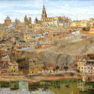 Toledo, 100x75cm