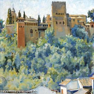 La Alhambra, 65x54cm