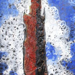 La giralda encadenada, 100x70cm
