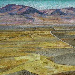 AMALIO-Paisaje-penibetico-Oleo-sobre-tablex-100-x-200-cm-1